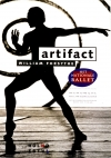 affiche Artifact, Het Nationale Ballet, choreographer William Forsythe
