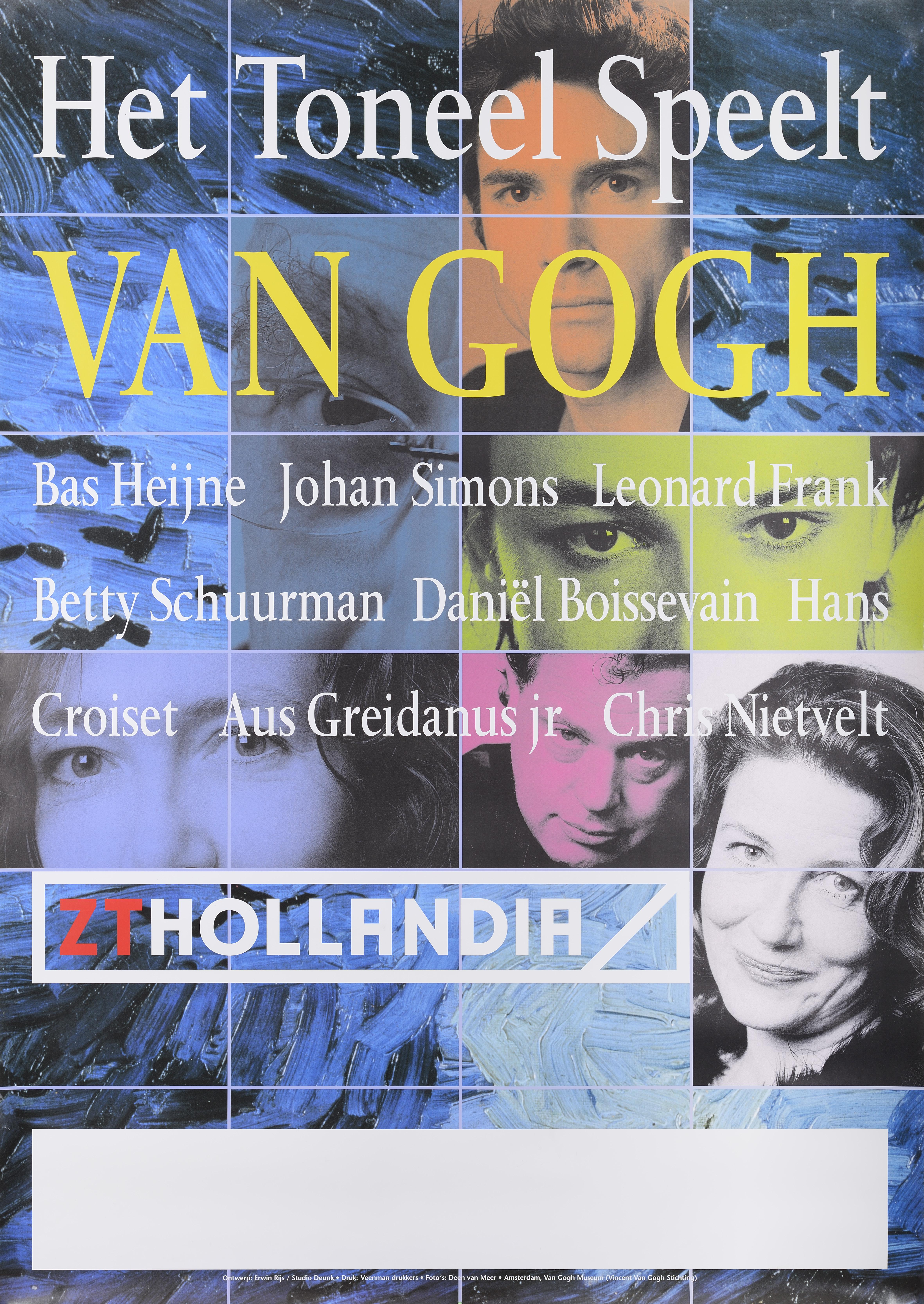 Affiche - Het Toneel Speelt - Van Gogh