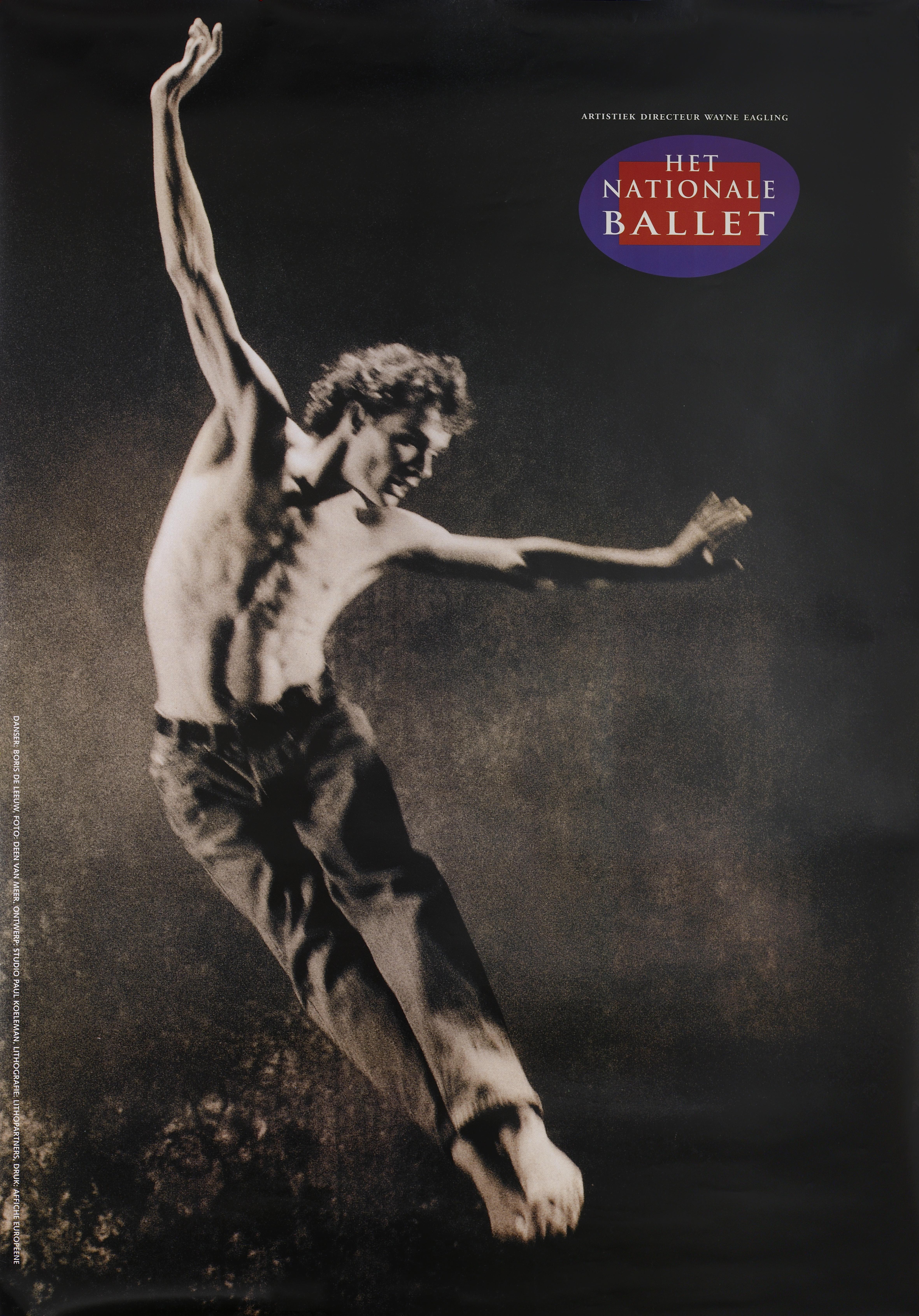 Affiche - Het Nationale Ballet - Boris de Leeuw