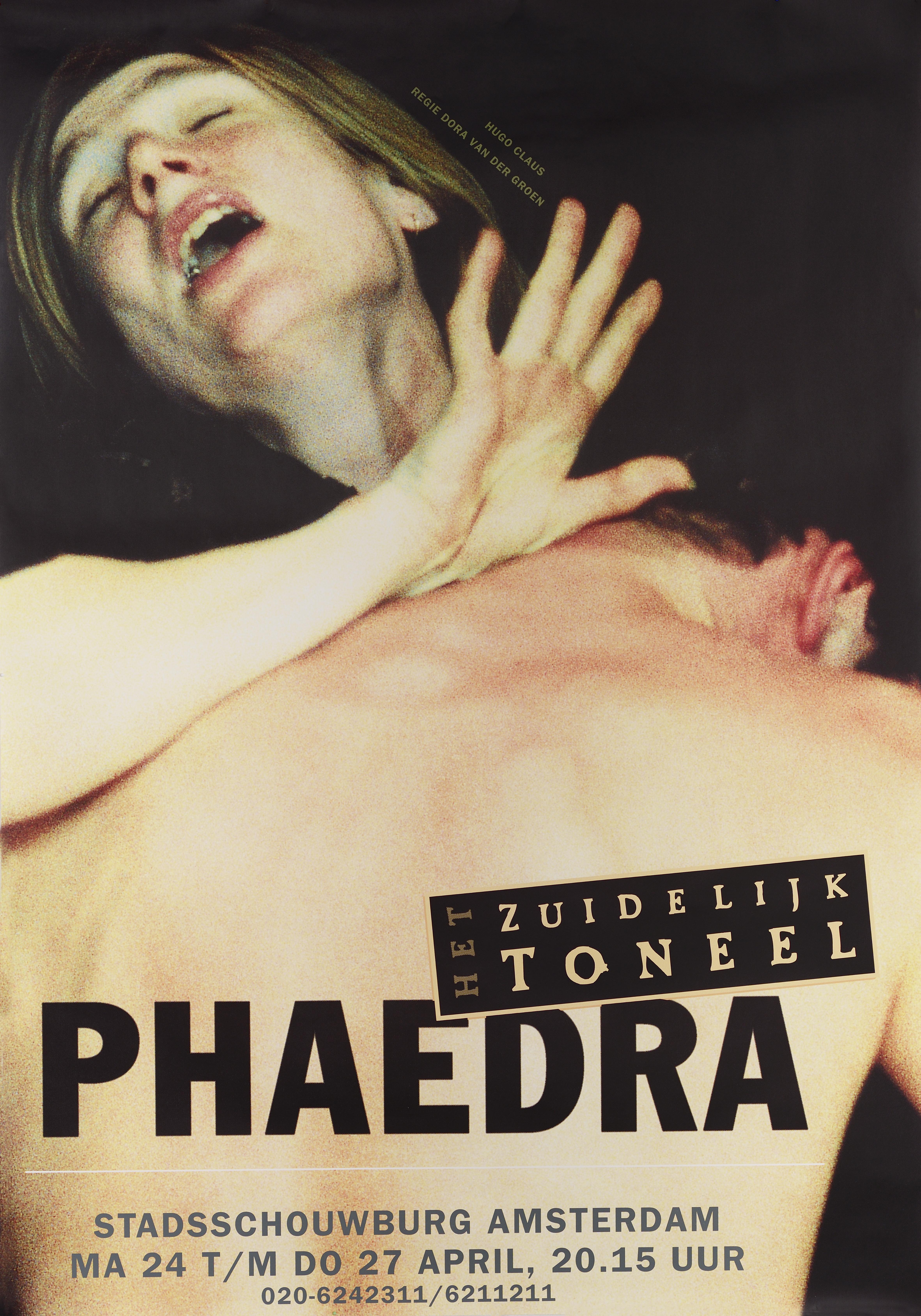Affiche - Het Zuidelijk Toneel - Phaedra